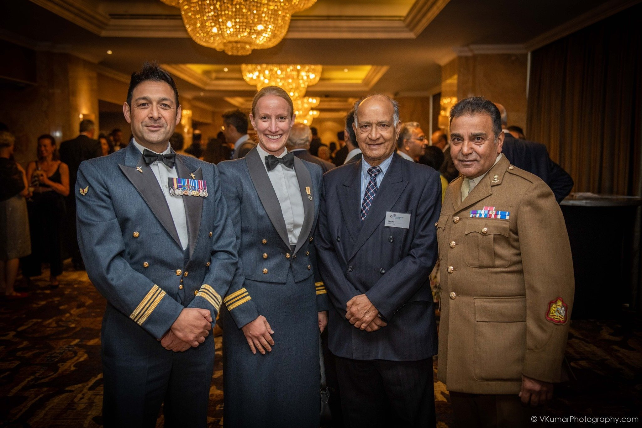 Royal Air Force at the Asian Achievers Awards