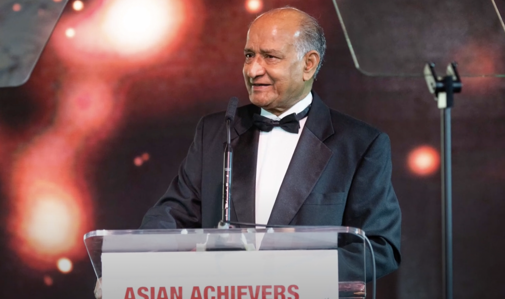 CB Patel from ABPL at the Asian Achievers Awards